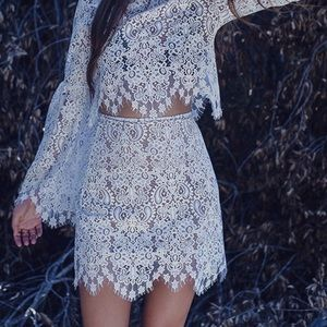🆕For Love & Lemons Skirt